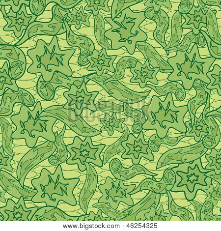 Abstract Floral Camouflage Pattern