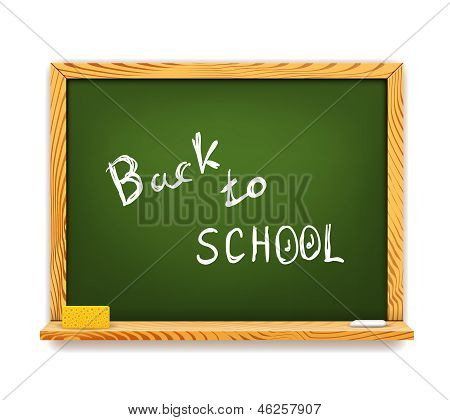 Chalkboard Back to School