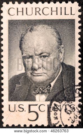 Churchill Us Stamp