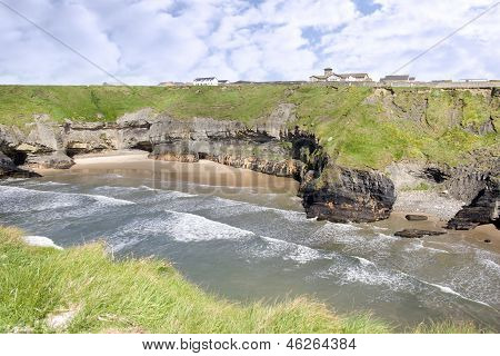 The Nuns Beach And Convent