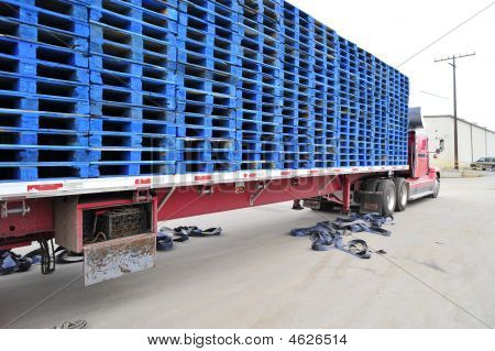 Load Of Wooden Pallets