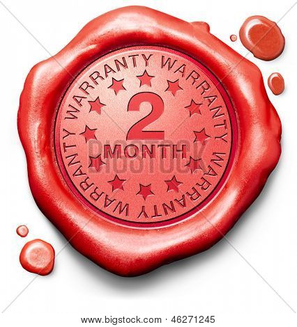 two month warranty top quality product 2 months assurance and replacement best top quality guarantee guaranteed commitment