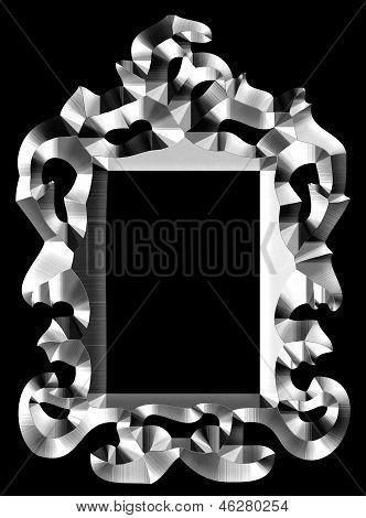 Baroque Frame Silver