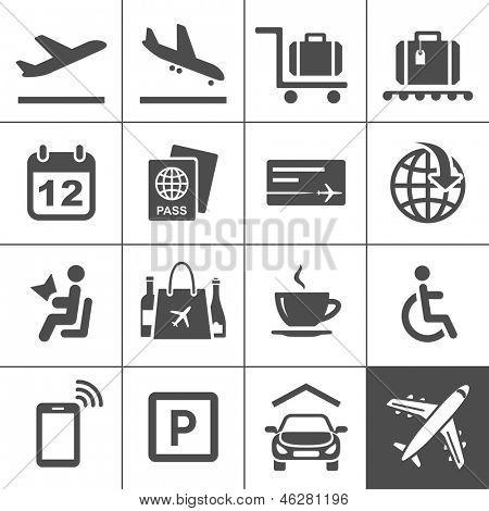 Conjunto de iconos universales. 25 iconos universales para sitio web y la bobina serie Simplus. Ilustración de Vector
