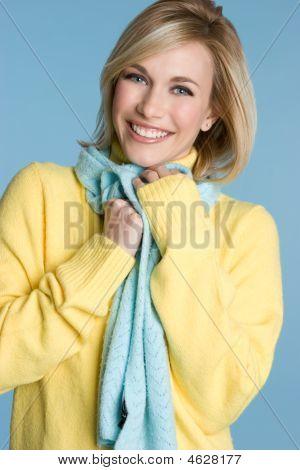 Lovley Fall Fashion Lady