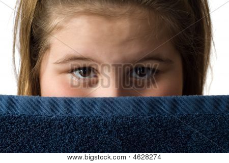 Girl With Bath Towel