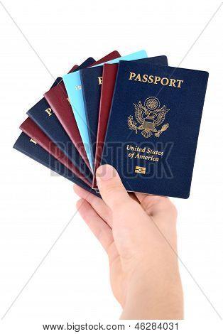 Bunch Of Passports
