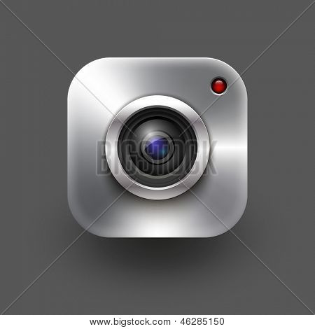 camera icon. Vector eps 10