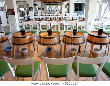 Wine Shop In Santornini