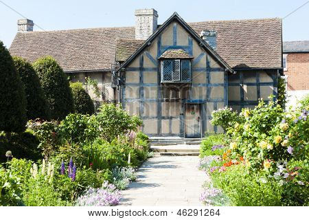 birthplace of William Shakespeare, Stratford-upon-Avon, Warwickshire, England