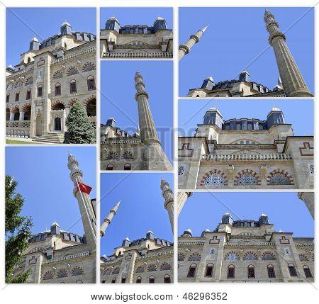 Selimiye Mosque (Selimiye Cami) - Edirne Turkey.