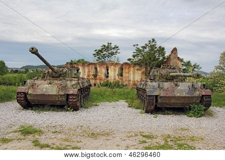 Two Old Tank