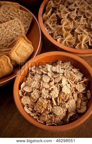 Carboidratos de grãos integrais