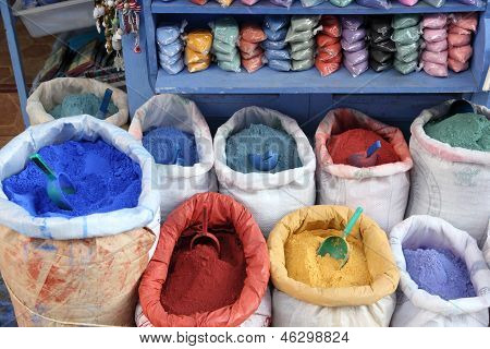Colors In Morocco
