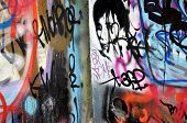 stock photo of graff  - graffiti street color painting graff urban art - JPG