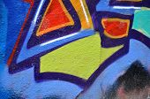 stock photo of graff  - graffiti letters color urban art graff paint - JPG