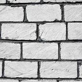 pic of cinder block  - Full Frame Cinder Block Brick Wall with Rough Texture - JPG
