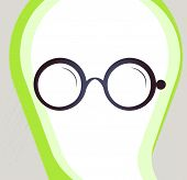 picture of bifocals  - Glasses - JPG