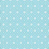 stock photo of hexagon  - Seamless hexagon pattern - JPG