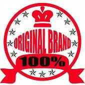 Original brand poster