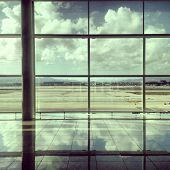 Afternoon view at the Airport Terminal