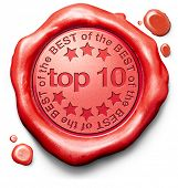 foto of prize winner  - top 10 charts list pop poll result and award winners chart ranking music hits best top quality rating prize winner icon red wax seal stamp - JPG