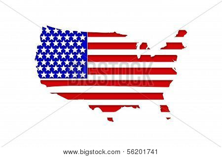 United States of America - Map