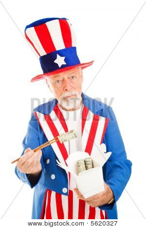 Uncle Sam Eats Dim Sum