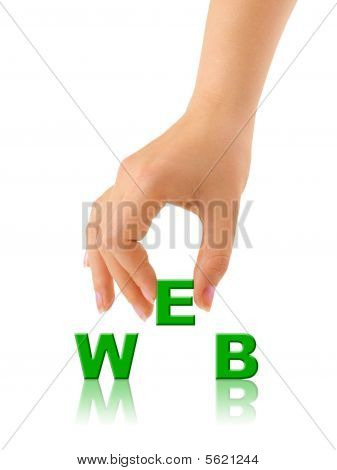 Hand And Word Web