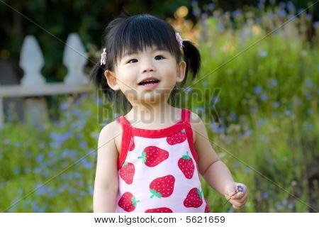 Little Asian Chinese girl