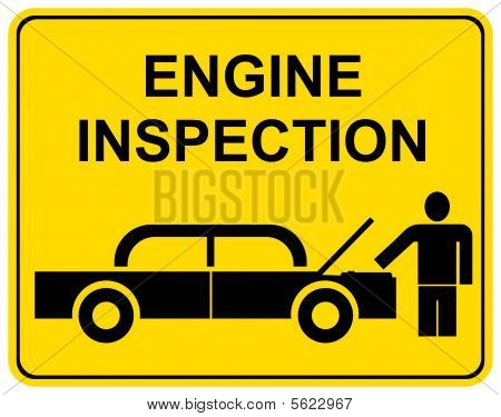 Inspección del motor
