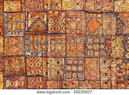 india fabric background patchwork ornate