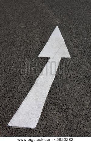 Arrow On Road