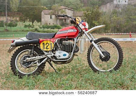 Vintage Off Road Motorcycle Ktm