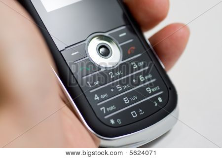 Modern Mobile Or Cell Phone