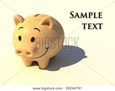 Piggy money-box