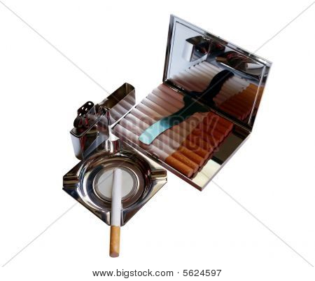 Set smoker