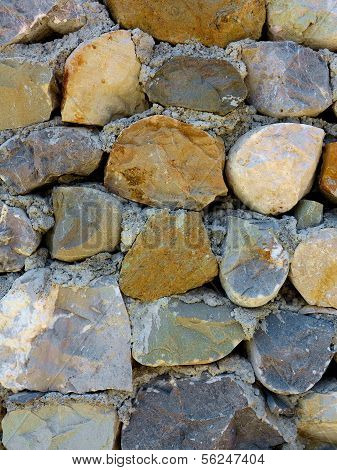 Wall Of Large Stones