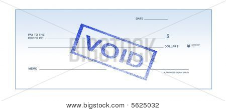 Void Blank Check