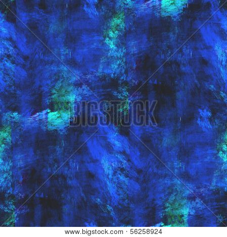 abstract avant-garde blue seamless wallpaper watercolor art hand