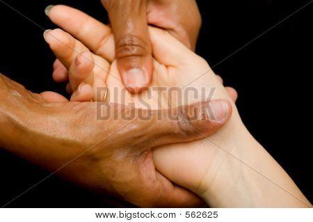 Oil Hand Massage