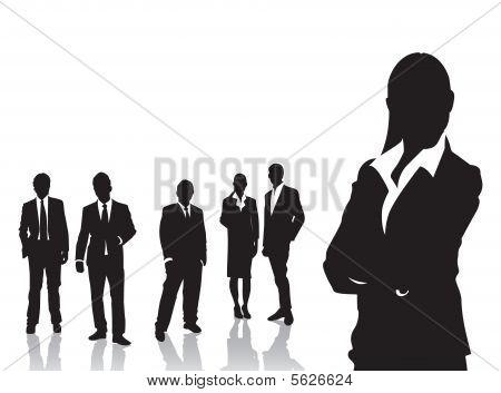 Negocios de personas