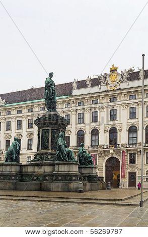 Monument To Emperor Franz 1, Vienna