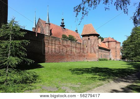 Cathedral In Frombork