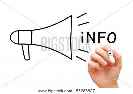 Info Megaphone Concept