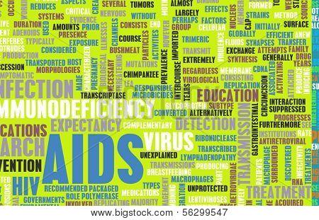 AIDS Awareness and Prevention Campaign Concept Art