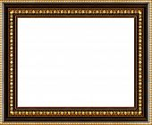 Antique Picture Frame Isolated