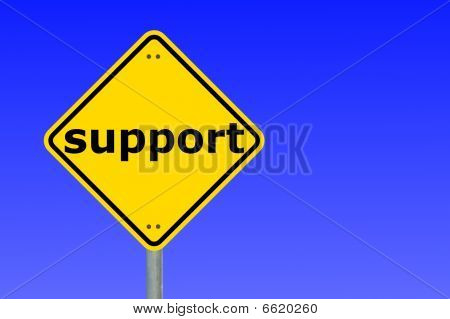Support Sign