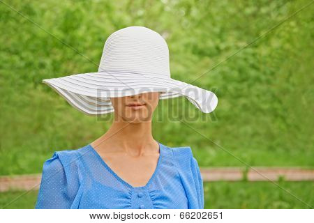 Attractive Woman In A Hat