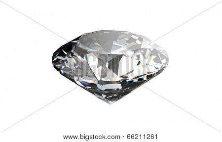 Diamond on black background with high quality. Jewelry background